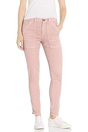 Daily Ritual Mujer Pantalones y Leggings - Stretch Cotton/Lyocell Zip-Pocket Utility Pant Work Pants