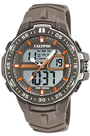 Calypso Reloj Analógico-Digital para Hombre de Cuarzo con Correa en Plástico K5766/3