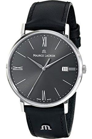 Maurice Lacroix Hombre Relojes - EL1087-SS001-810 Eliros Reloj analógico de Cuarzo para Hombre