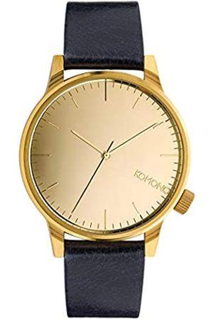 Komono Relojes - Reloj Analógico de Cuarzo Unisex con Correa de Cuero – KOM-W2891