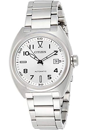 Citizen Reloj Analógico para Hombre de Automático con Correa en Acero Inoxidable NJ0100-89A