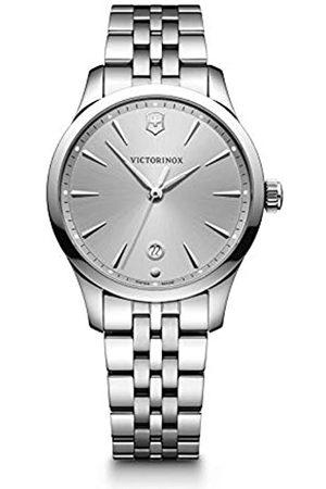 Victorinox Mujer Alliance Small - Reloj de Acero Inoxidable de Cuarzo analógico de fabricación Suiza 241828
