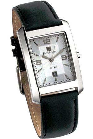 Pierre Lannier Hombre Relojes - 218A123 - Reloj analógico de Cuarzo para Hombre con Correa de Piel