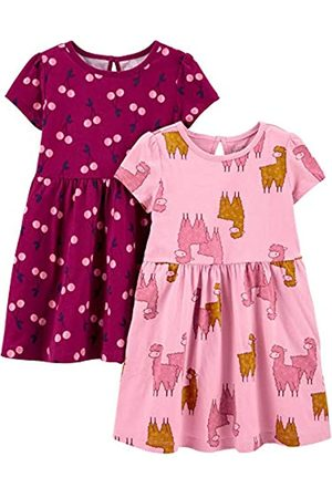 Simple Joys by Carter's De manga corta - 2-Pack Short-Sleeve and Sleeveless Dress Sets Vestido Casual 18 Meses