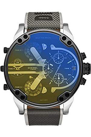 Diesel Hombre Relojes - Reloj Analogico para Hombre de Cuarzo con Correa en Nailon DZ7429