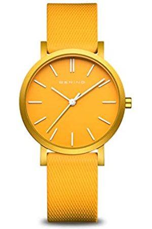 Bering Relojes - Reloj Analógico para Unisex de Cuarzo con Correa en Silicona 16934-699