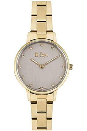 Lee Cooper Mujer Relojes - Reloj Analógico para Mujer de Cuarzo con Correa en Metal LC06940