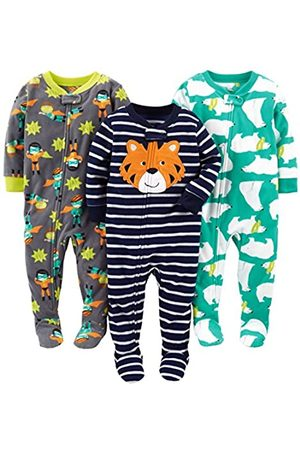 Simple Joys by Carter's Bebé Bodies bebé - Infant-and-toddler-pajama-sets, Tiger/Polar Bear/Superhero