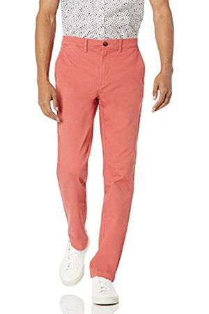 Amazon Hombre Pantalones slim y skinny - Slim-Fit Casual Stretch Khaki Caqui