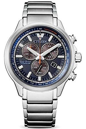 Citizen RelojCronógrafoparaHombredeEco-DriveconCorreaenTitanioAT2470-85L