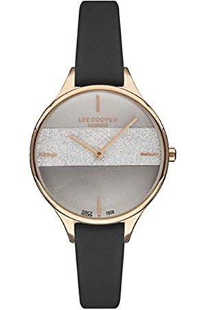 Lee Cooper Mujer Relojes - Reloj Analógico para Mujer de Cuarzo con Correa en Cuero LC07099