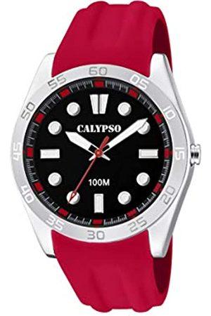 Calypso Hombre Relojes - CalypsoWatchesRelojAnalógicoparaUnisexAdultosdeCuarzoconCorreaenPlásticoK5763/5