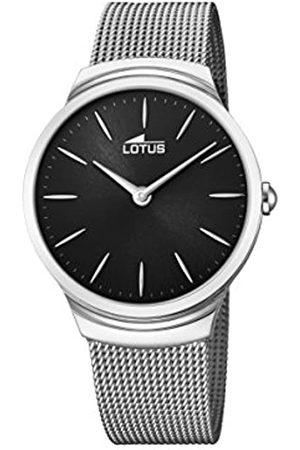 Lotus Reloj Análogo clásico para Hombre de Cuarzo con Correa en Acero Inoxidable 18493/3