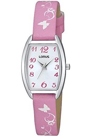 Lorus Reloj Analógico para Unisex niños de Cuarzo con Correa en Cuero RRS63UX9