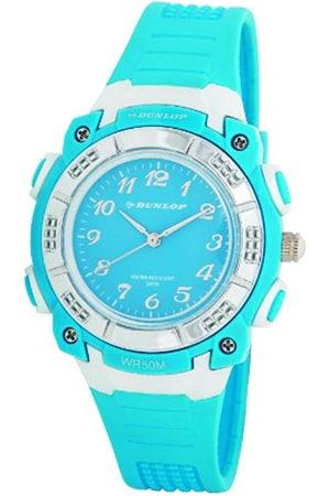 Dunlop Reloj Analógico para Mujer de Cuarzo con Correa en Caucho DUN243L04