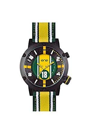 Eñe Hombre Relojes - Reloj Analógico para Hombre de Cuarzo con Correa en Nailon 650000106