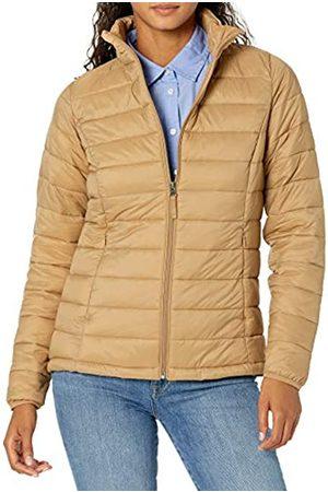 Amazon Lightweight Water-Resistant Packable Puffer Jacket Down-Alternative-Outerwear-Coats