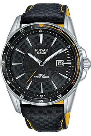 Seiko Hombre Relojes - Pulsar Reloj Analógico para Hombre de Cuarzo con Correa en Piel PX3207X1