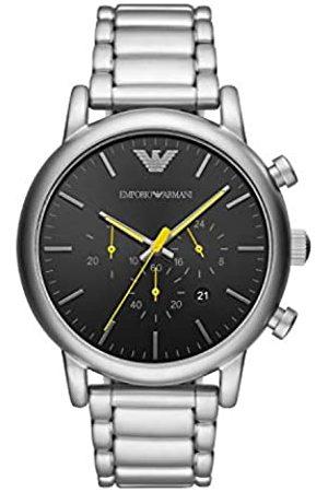Emporio Armani Hombre Relojes - Reloj Analógico para Hombre de Cuarzo con Correa en Acero Inoxidable AR11324