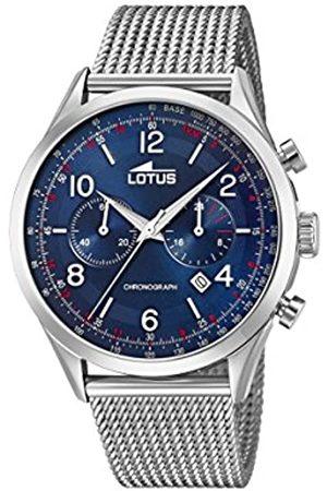 Lotus Reloj Cronógrafo para Hombre de Cuarzo con Correa en Acero Inoxidable 18555/3