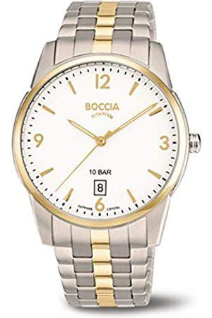 Boccia Reloj Analógico para Hombre de Cuarzo con Correa en Titanio 3632-02