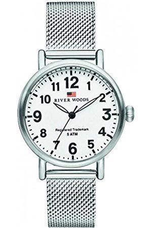 River Woods Reloj Analógico para Mujer de Cuarzo con Correa en Acero Inoxidable RW340010