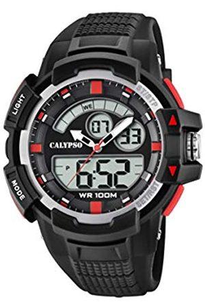Calypso Reloj Analógico-Digital para Unisex Adultos de Cuarzo con Correa en Plástico K5767/3