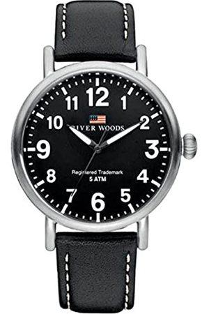 River Woods Reloj Analógico para Hombre de Cuarzo con Correa en Cuero RW420001