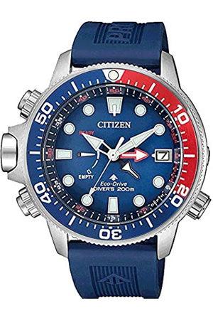 Citizen Hombre Relojes - Reloj Analógico para Hombre de con Correa en Caucho BN2038-01L
