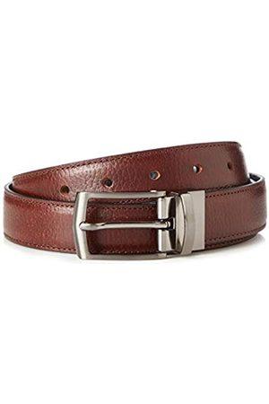 FIND Marca Amazon - Cinturón de Cuero Hombre, , M