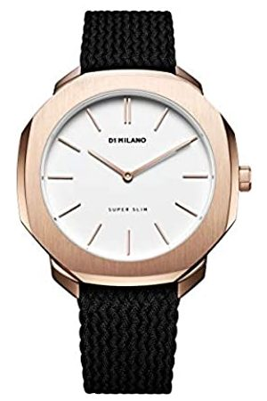 Milano D1 Reloj Analog-Digital para Unisex-Adult de Automatic con Correa en Cloth S0327580
