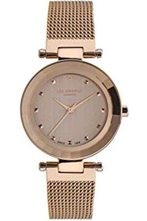 Lee Cooper Mujer Relojes - Reloj Analógico para Mujer de Cuarzo con Correa en Acero LC07029