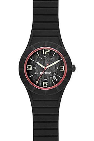 Hip Hombre Relojes - HipHopRelojAnalógicoparaHombredeCuarzoconCorreaenSiliconaHWU0476