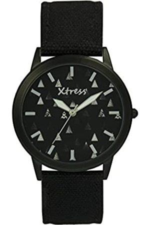XTRESS Hombre Relojes - RelojAnalógicoparaHombredeCuarzoconCorreaenNailonXNA1035-39