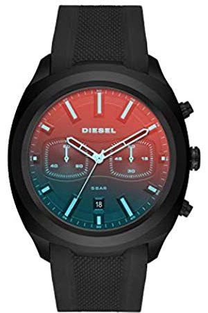 Diesel Reloj Cronógrafo para Hombre de Cuarzo con Correa en Silicona DZ4493