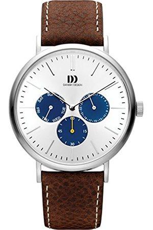 Danish Design Reloj Multiesfera para Hombre de Cuarzo con Correa en Cuero IQ12Q1233