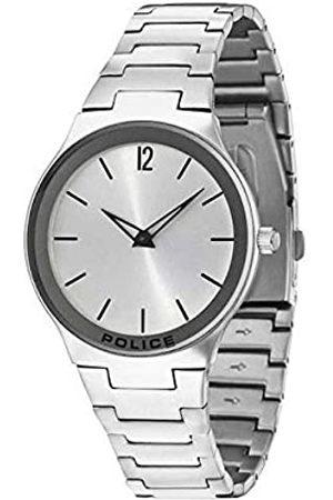 Police Hombre Relojes - Reloj Analógico para Hombre de Cuarzo con Correa en Acero Inoxidable R1453262002