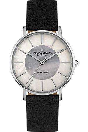 Jacques Lemans Reloj Analógico para Mujer de Cuarzo con Correa en Cuero 1-2112A