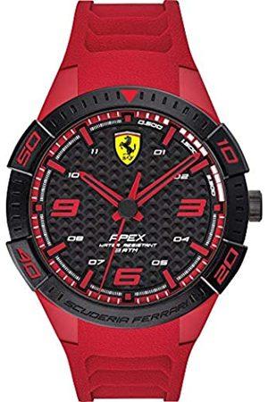 Scuderia Ferrari Hombre Relojes - Reloj Analógico para Hombre de Cuarzo con Correa en Silicona 0830664