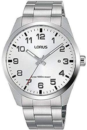 Lorus Hombre Relojes - Reloj Analógico para Hombre de Cuarzo con Correa en Acero Inoxidable RH977JX9