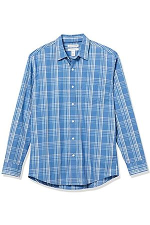Amazon Long-Sleeve Regular-fit Casual Poplin Shirt Button-Down-Shirts