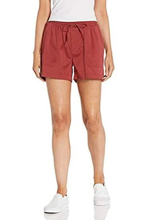 Daily Ritual Mujer Pantalones cortos - Pantalón Corto elástico Tencel con cordón Pants