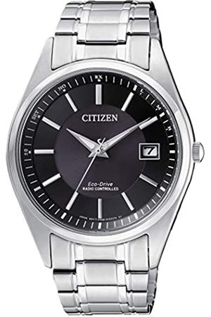 Citizen Hombre Relojes - RelojAnalogicoparaHombredeEnergíaSolarconCorreaenAceroInoxidableAS2050-87E