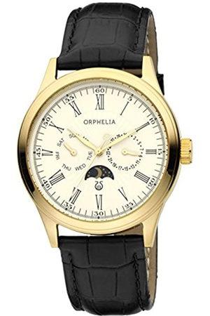 ORPHELIA Hombre Relojes - Reloj Analógico para Hombre de Cuarzo con Correa en Cuero OR71601