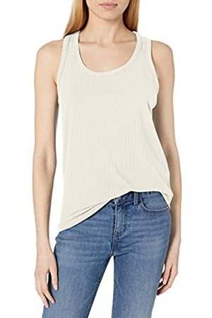 Daily Ritual Mujer Camisetas y Tops - Rayon Spandex Wide Rib Tank Top Camisa