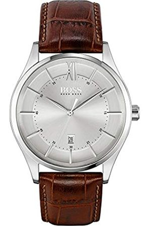 HUGO BOSS Reloj para de Cuarzo con Correa en Cuero 1513795