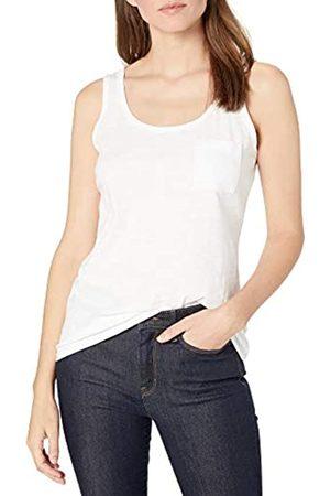 Goodthreads Mujer Camisetas y Tops - Vintage Cotton Pocket Tank Novelty Tops