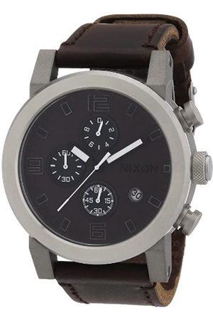 Nixon Reloj para Caballero de Cuero