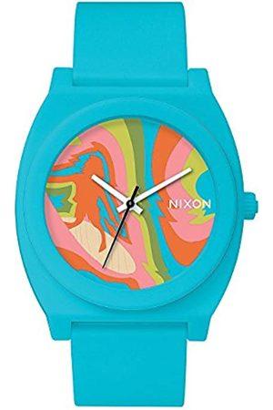 Nixon Hombre Relojes - Reloj Analógico para Hombre de Cuarzo con Correa en PU A119-3023-00