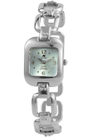 Akzent Mujer Relojes - SS7123500042 - Reloj analógico de mujer de cuarzo con correa de aleación plateada - sumergible a 30 metros